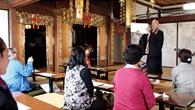 写経体験と精進料理 島崎家の菩提寺、永昌寺にて