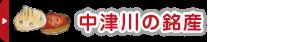 中津川の銘産コーナー