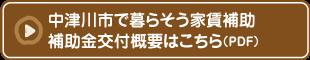 中津川市で暮らそう家賃補助補助金概要はこちら(PDF)