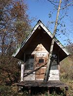 セルフビルドの小屋